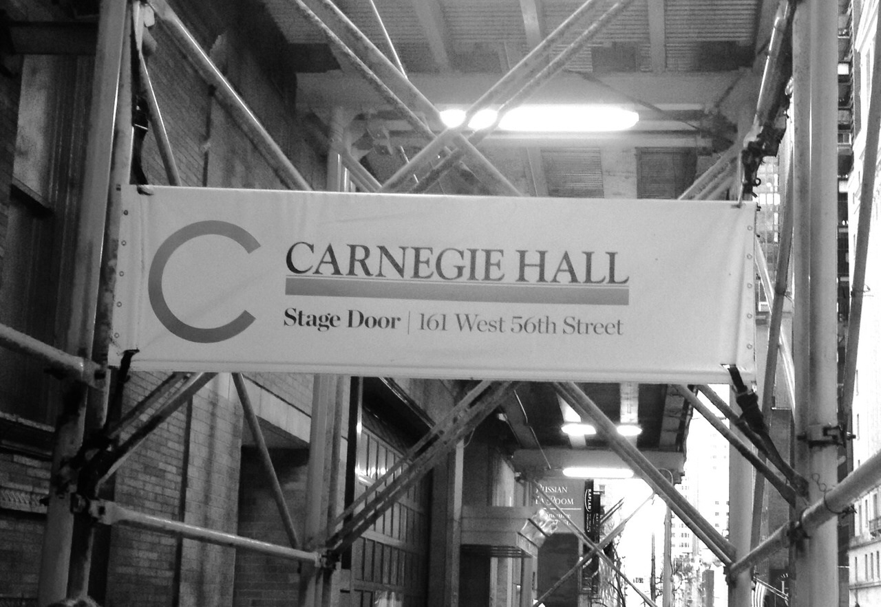 Carnegie Hall – January 2014