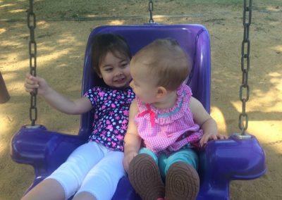 Hannah and Olivia